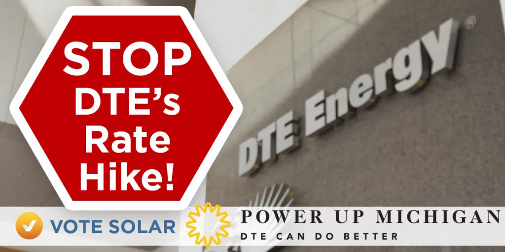 DTE Michigan Rate Hike