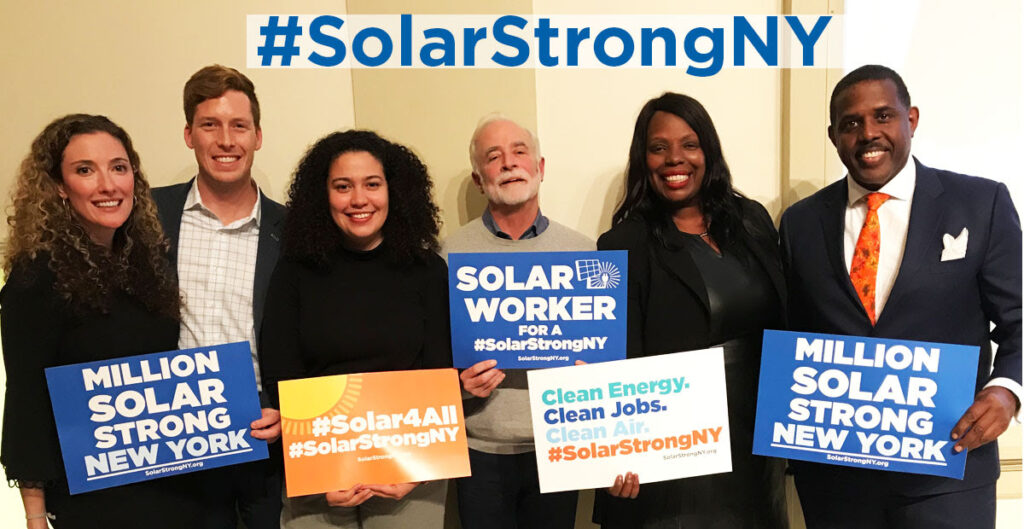 New York Lawmakers join Solar Town Hall