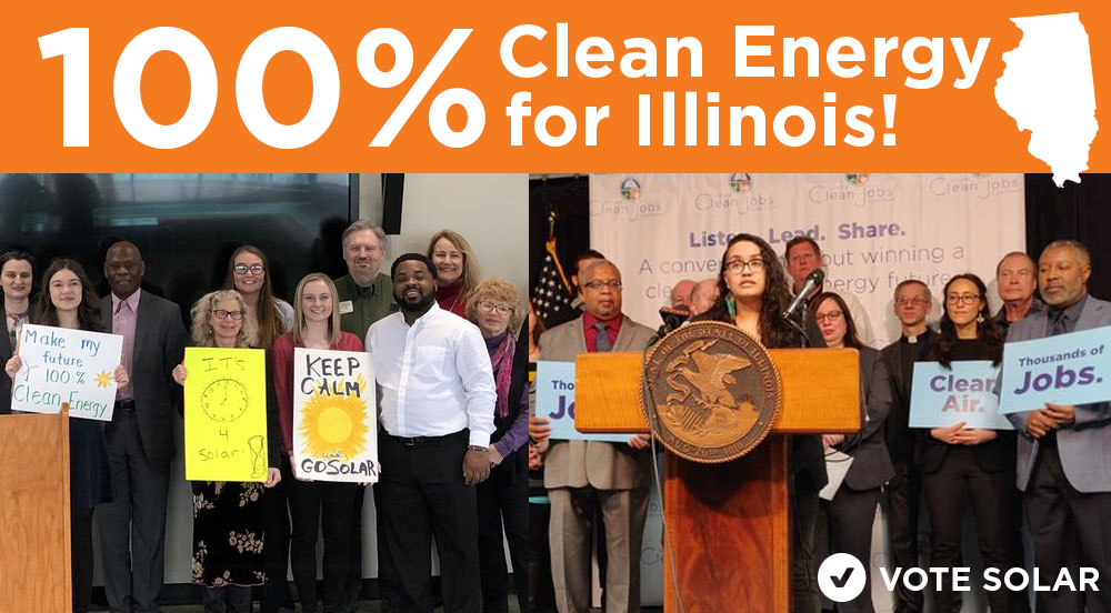 Illinois Can Lead the Way to 100% with the Clean Energy Jobs Act