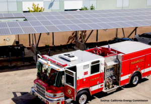 Fremont Fire Dept Solar Installation