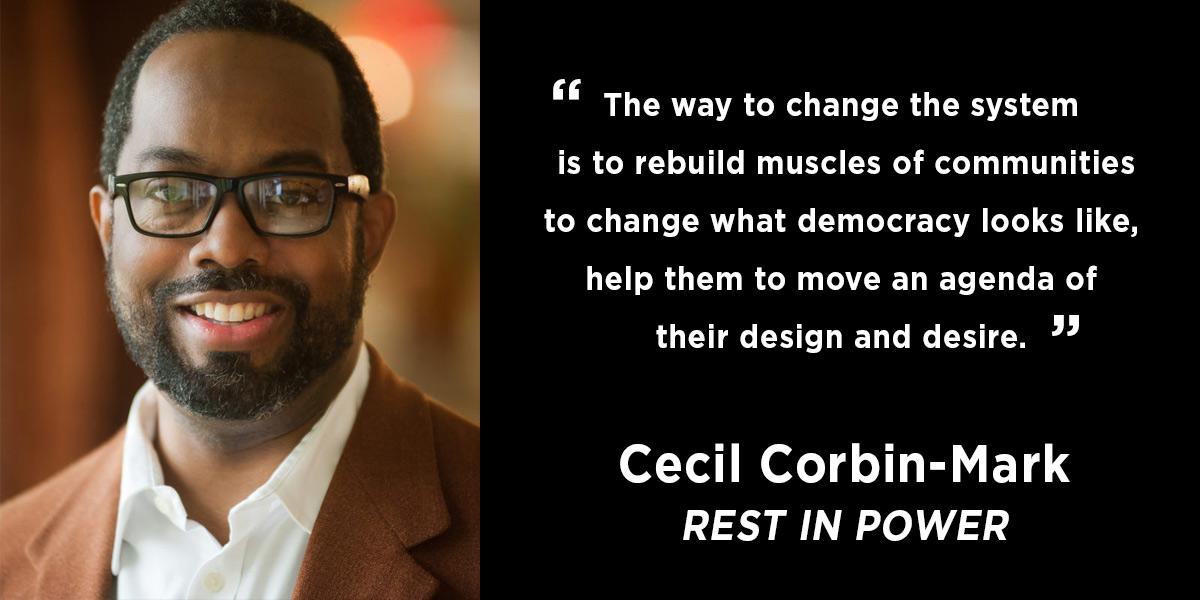 Vote Solar Statement on the Passing of Cecil Corbin-Mark