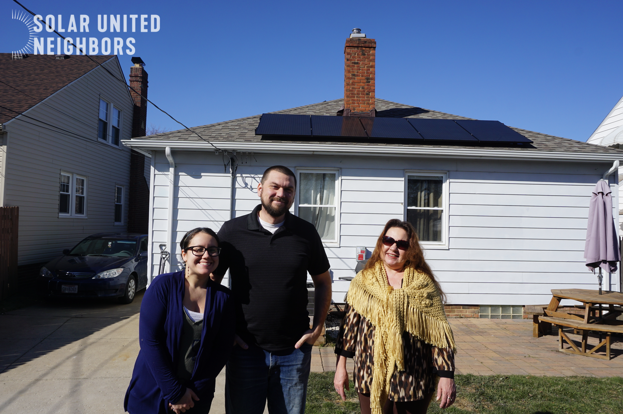Solar United Neighbors solar roof