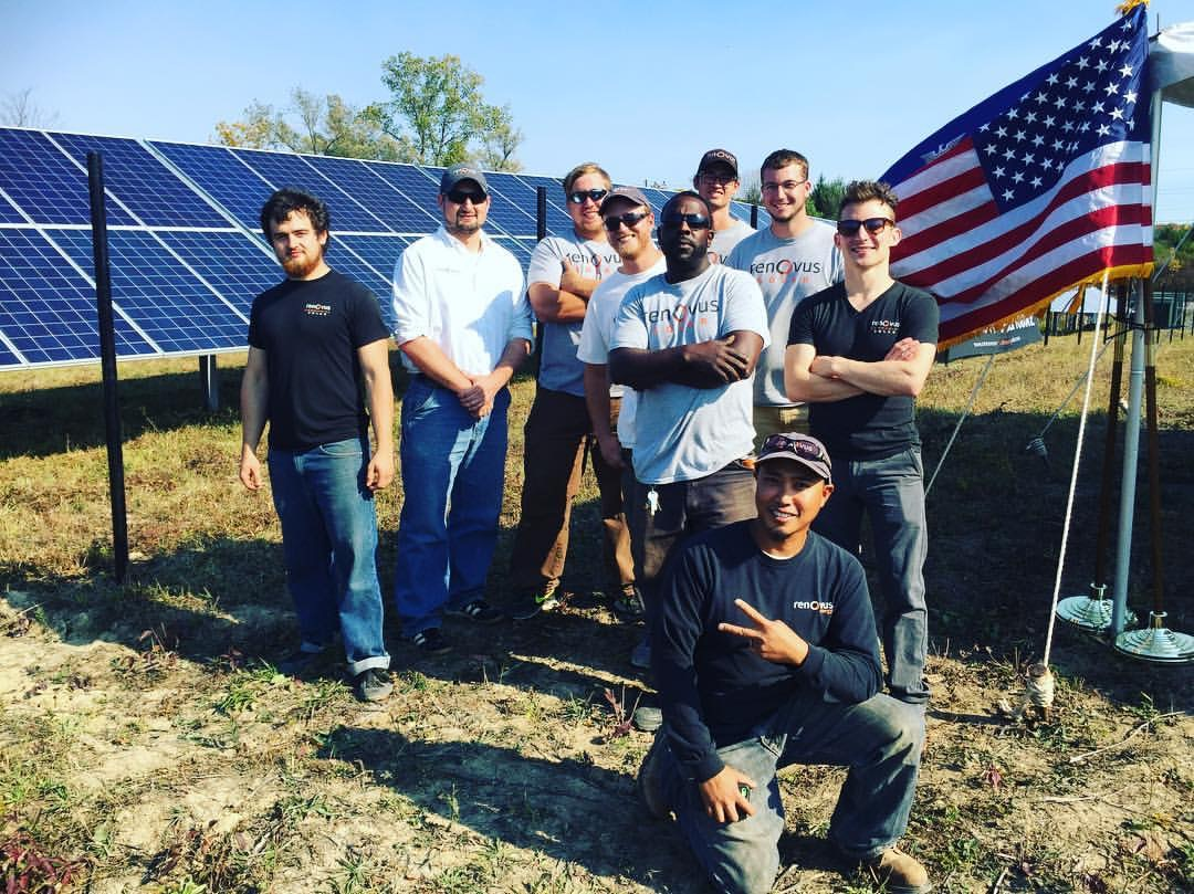 Proud solar installers in Connecticut.