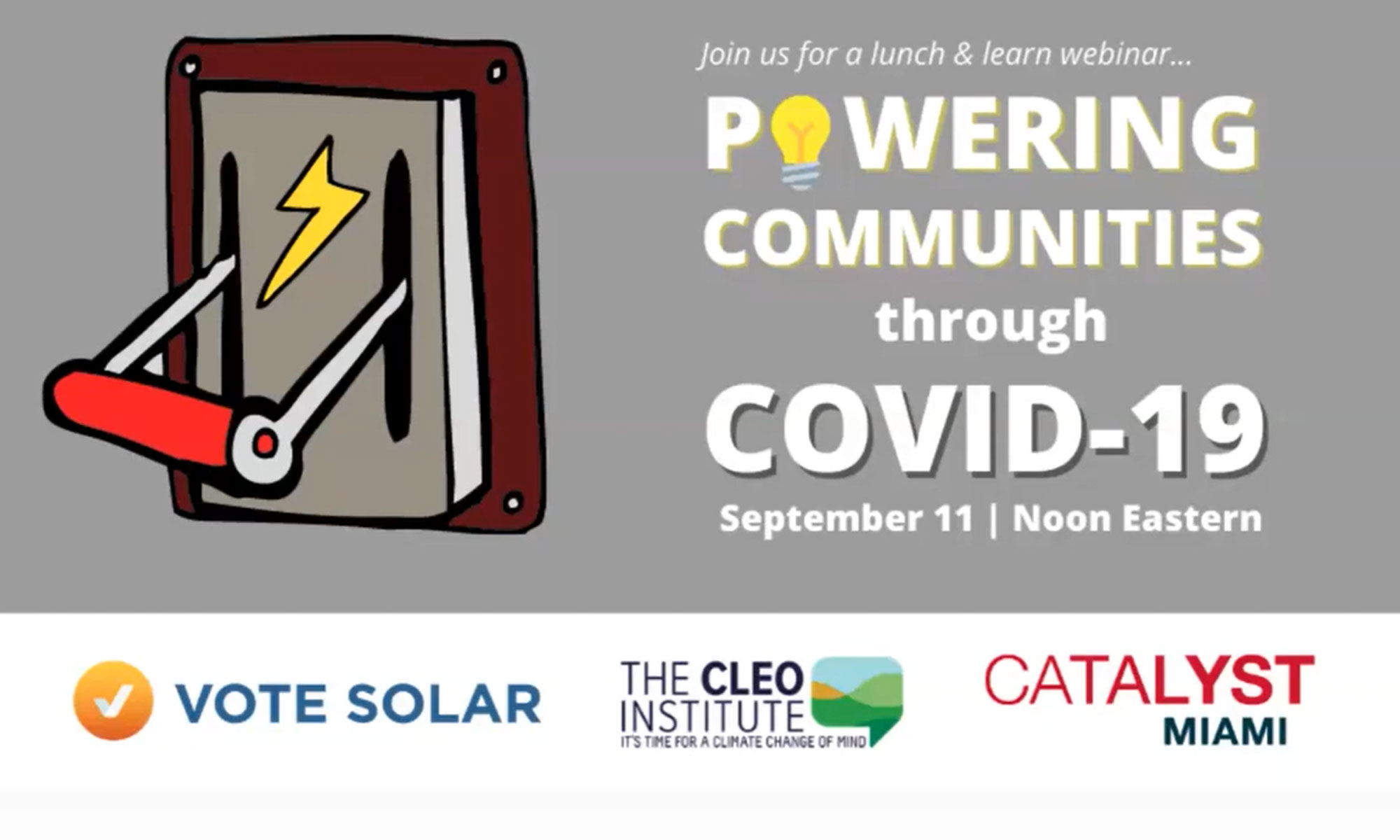 Powering Communities Through COVID-19