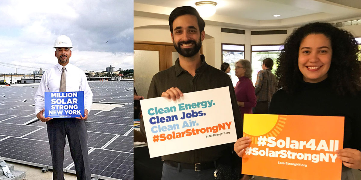 New Report: NY solar energy goal would create thousands of new jobs and billions of dollars in economic benefits