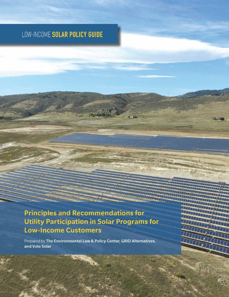 Low Income Solar Guide