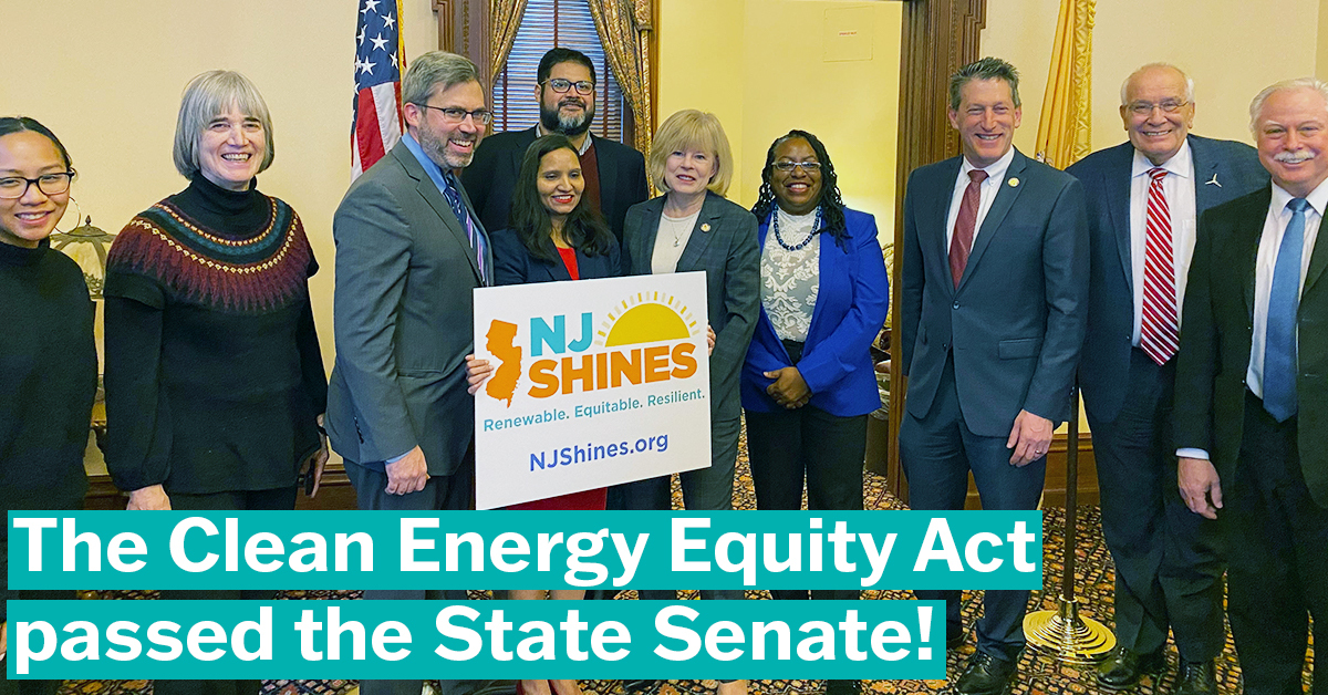 NJ Shines Bill Passes the Senate