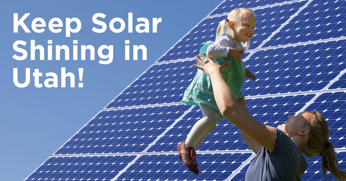 Vote Solar proposes re-opening net metering for Utahns
