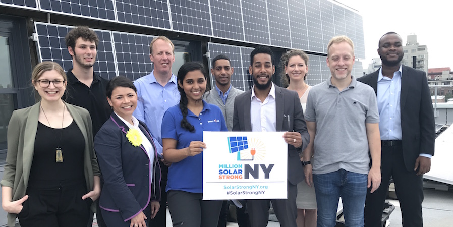New York Million Solar Strong
