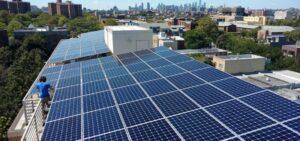 New York Rooftop Solar Skyline