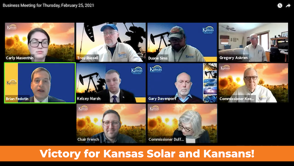 Kansas Corporation Commission Ruling A Win for Solar and Customers