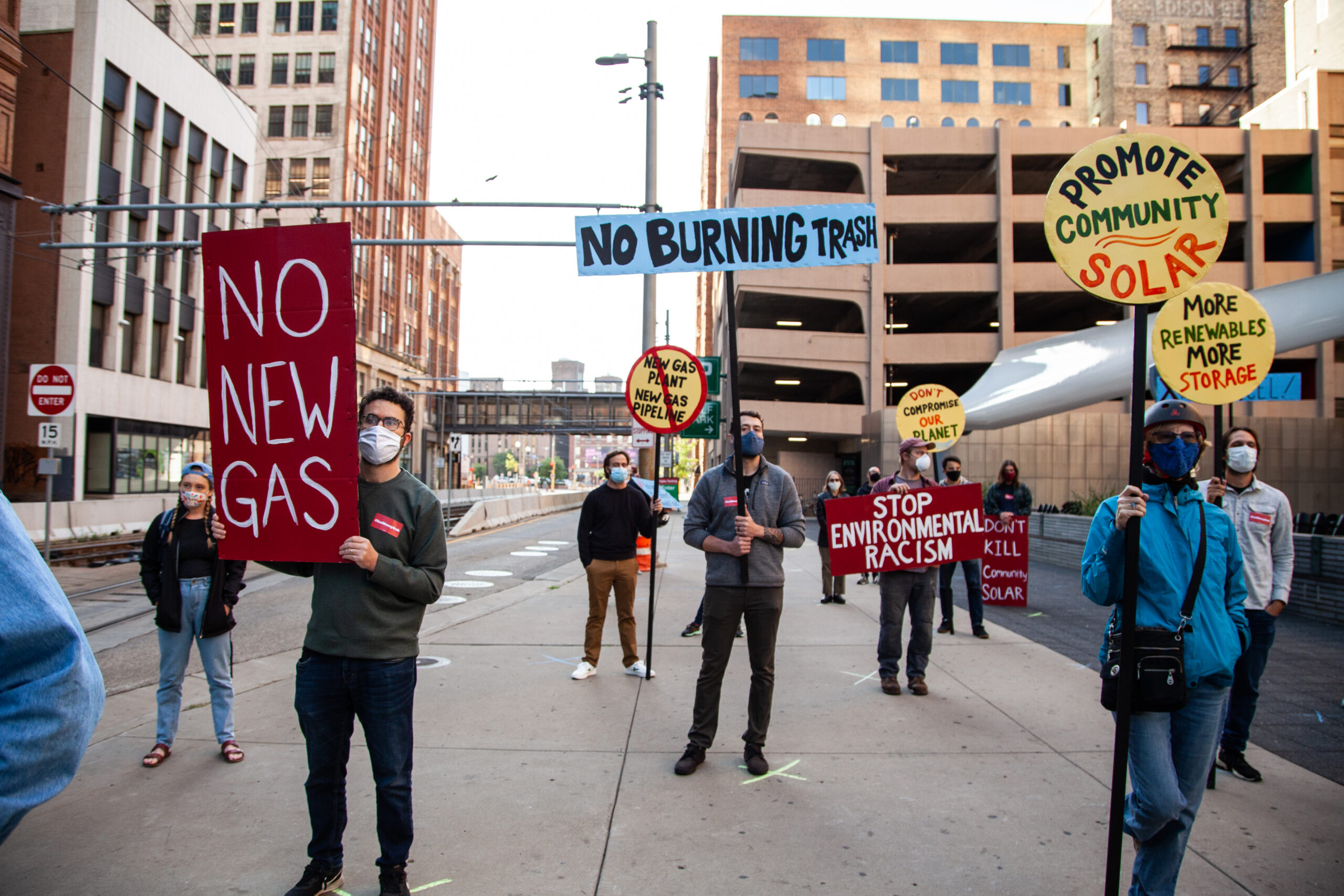 Minnesotans Tell Xcel Energy to Reject Fossil Fuels, Focus on Clean Energy
