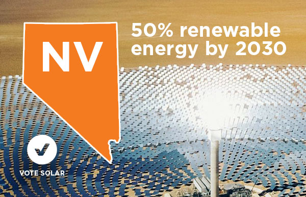 Nevada Senate recognizes the will of the people with 50% renewable energy bill