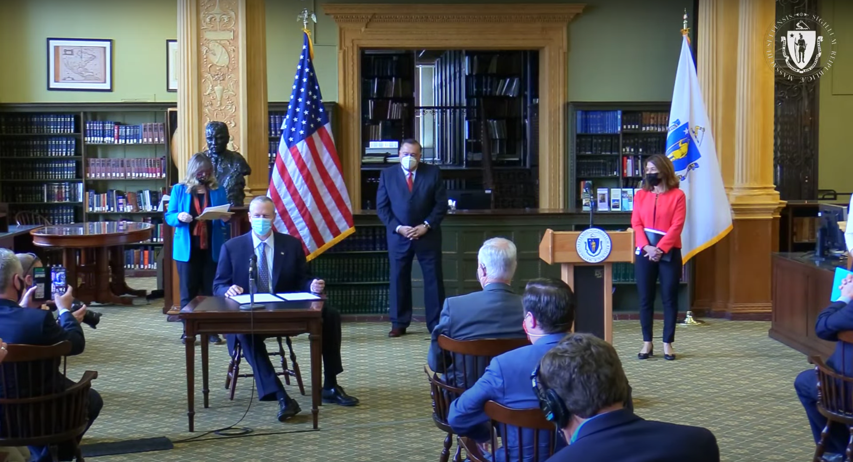 Massachusetts Governor Finally Signs Next-Generation Climate Roadmap