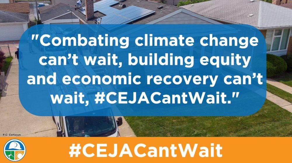 #CEJACantWait: Illinois legislators must pass the Clean Energy Jobs Act
