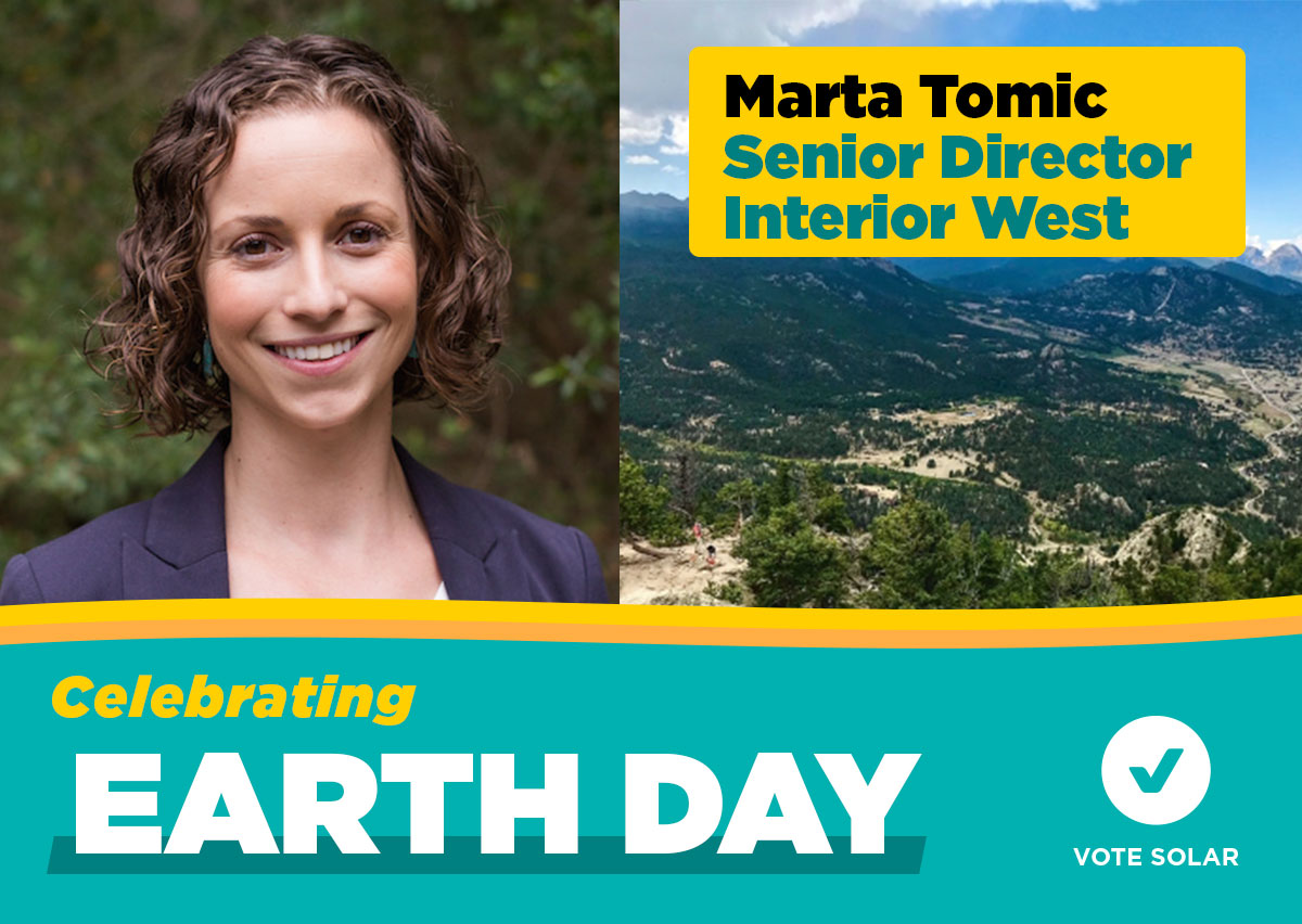 Marta Tomic - Celebrating Earth Day