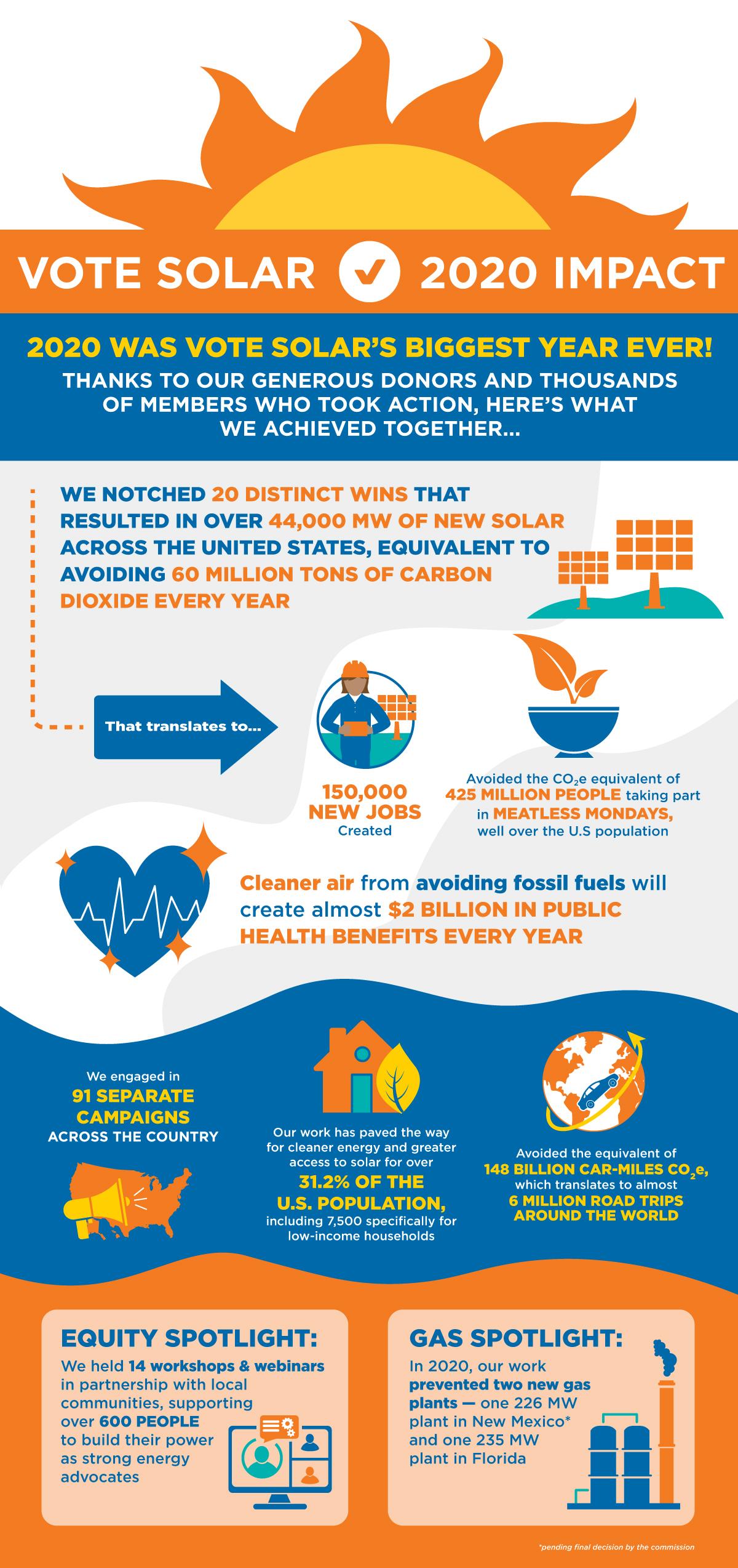 2020 Impact Infographic