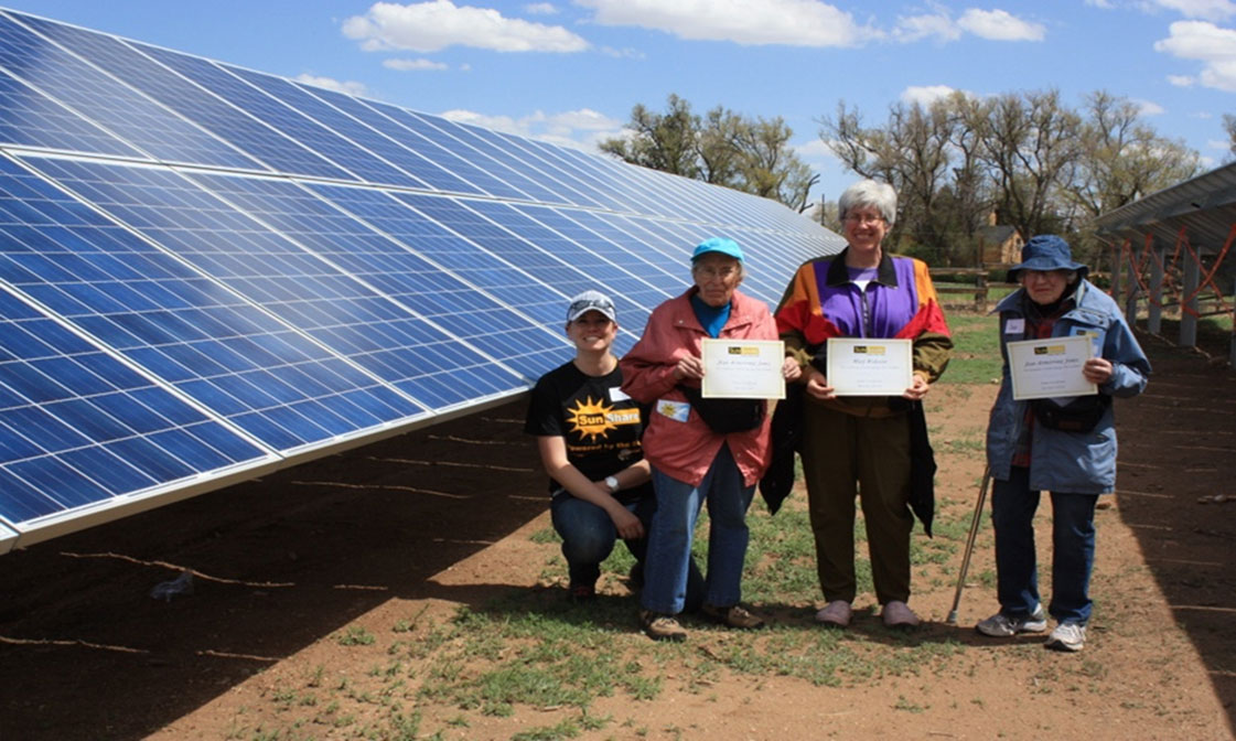 Community solar customers
