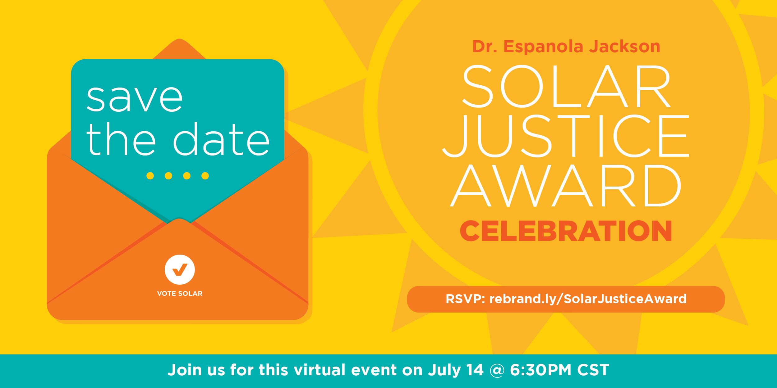 solar justice award