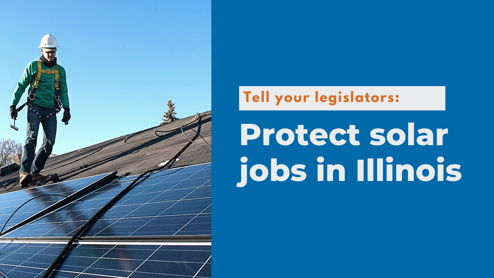 No more delays: Illinois legislators must pass climate and energy bill to protect solar jobs and frontline communities