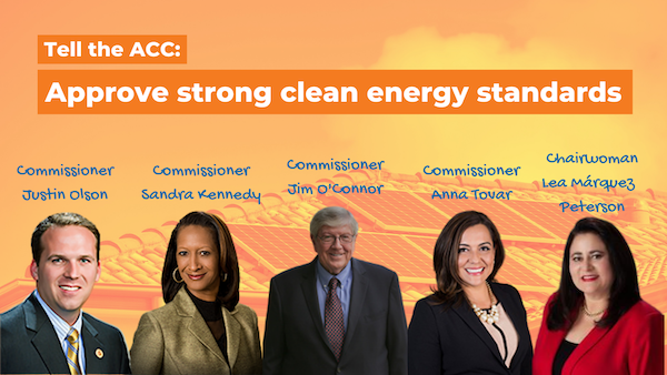 Tell the ACC: Approve strong clean energy standards for Arizona