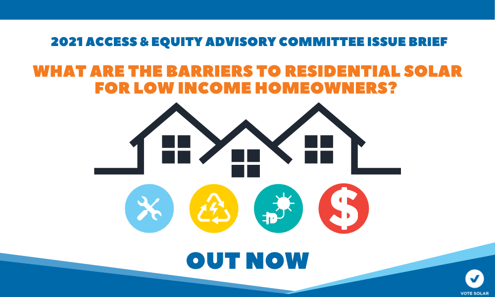 Advisory Committee Recommends Policies to Alleviate Low-Income Housing Barriers to Rooftop Solar