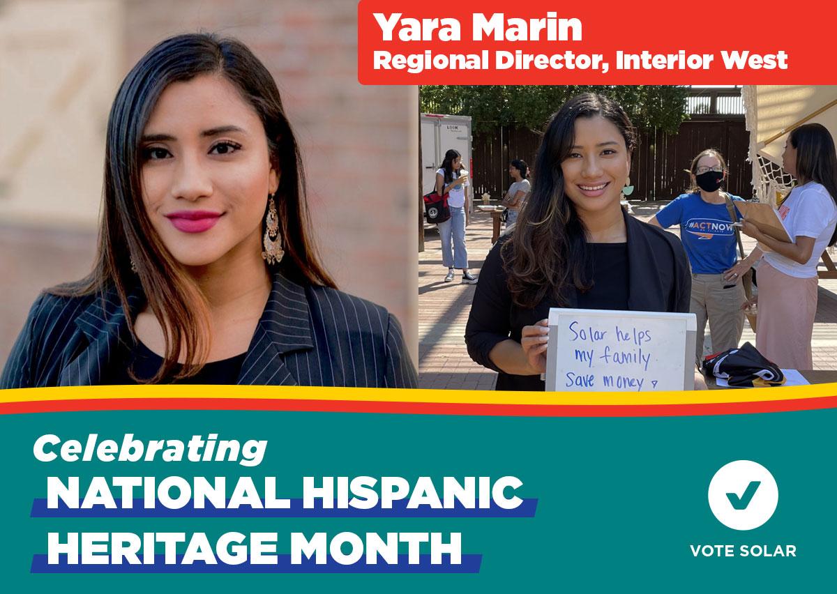 Yara Marin - Hispanic Heritage Month
