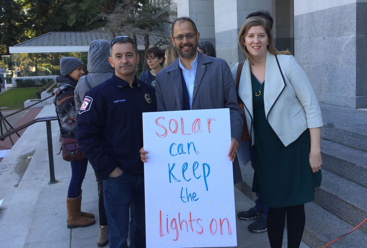 Realizing the vision of a 100% clean energy future: Journey from the Peace Corps to leading Vote Solar